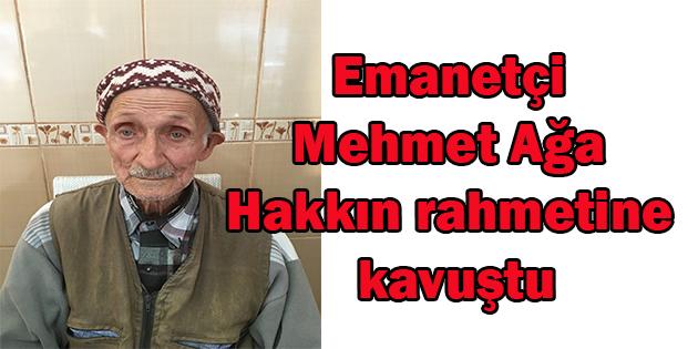 Dinar'da Emanetçi Mehmet Ağa Hakka Yürüdü