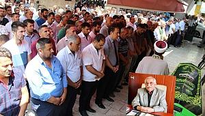 Başkan Şeref Ceylan Son Yolculuğuna uğurlandı