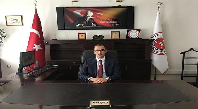 Dinar Adliyesine Yeni Başsavcımız Selman Eskiler Göreve Başladı