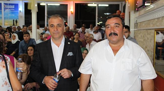 Dinar MHP ilçe Başkanı Karahan'ın Kızı Nişanlandı