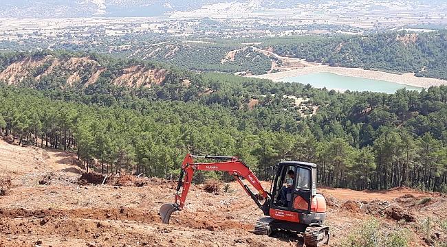Dinar Orman İşletme Müdürlüğü Çok Hızlı Çalışıyor