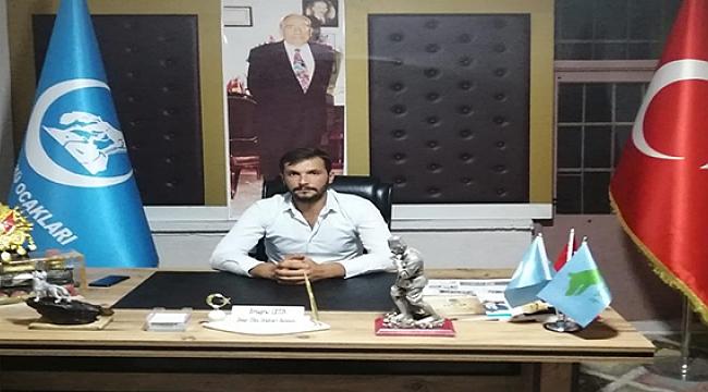 Dinar Ülkü Ocağı Başkanı Çetin'den Raif Öztürk'e açıklama