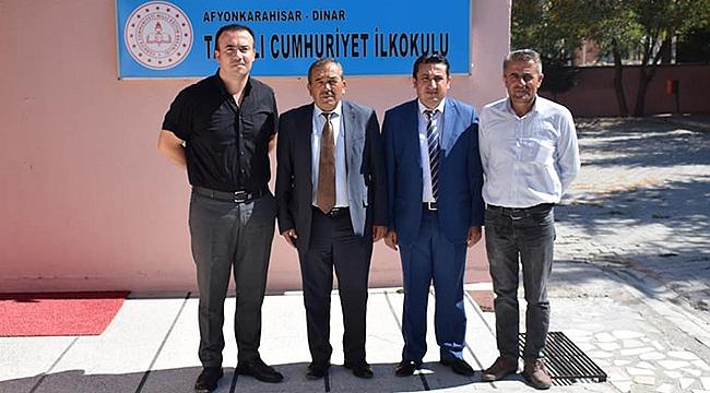 Başkan Çiçek Tatarlı'da Tüm Okulları Ziyaret etti