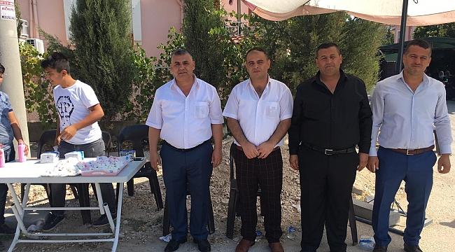 Başkan Şeref Ceylan adına Mevlid-i Şerif Okutuldu
