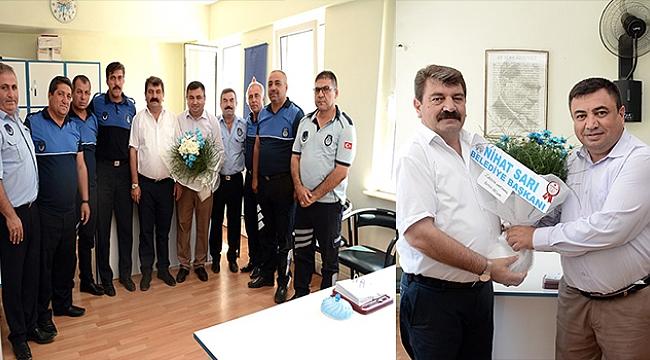 Dinar Belediye Başkanı Sarı'dan Zabıta Haftası Ziyareti