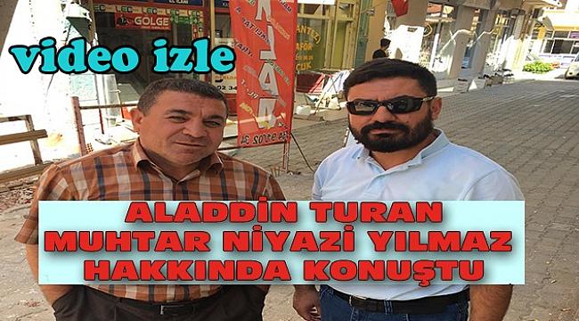 Dinar'da Aladdin Turan, Muhtar Niyazi Yılmaz Hakkında iddialarda bulundu
