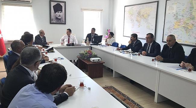 Dinar'da Bağımlılıkla Mücadele Toplantısı Yapıldı