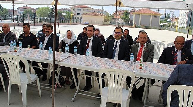 Dinar'da Şehit İzzet Taşbaş için anma töreni düzenlendi