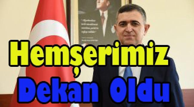 Dinarlı Hemşerimiz Prof. Dr. İsa Sağbaş, AKÜ'de Dekanlığa atandı