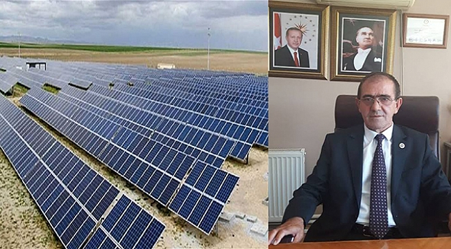 Ahmetpaşa, Güneş Enerji Santrali'ne kavuşuyor