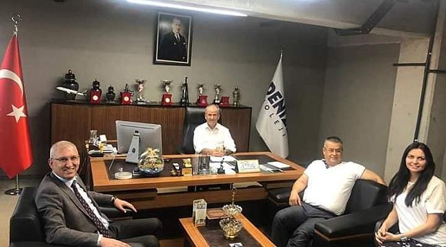 Başkan Gönüllü Denizli Kolejini Ziyaret Etti