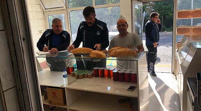 Dinar Belediyesi Zabıta Ekipleri tarafından Ekmek Fırınlarına Gramaj Denetimi