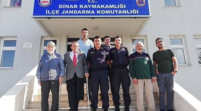 Gazilerden, Yüzbaşı Kacar ve Teğmen Kalli'ye Hayırlı Olsun Ziyareti