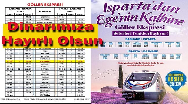 ISPARTA'DAN EGENİN KALBİNE