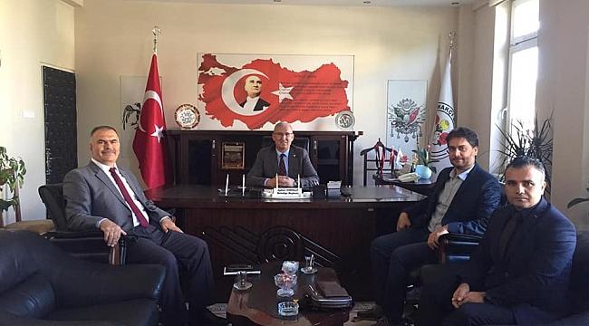 Rektör Yardımcısı Şuayip Özdemir'den Başkan Ayhan Gönüllü'ye Ziyaret