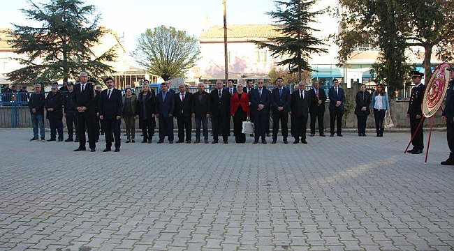 Başmakçı'da 10 Kasım Atatürk'ü Anma Töreni