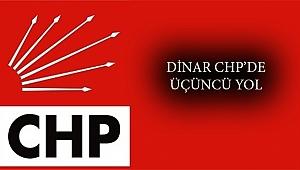 CHP Dinar'da Üçüncü Yol