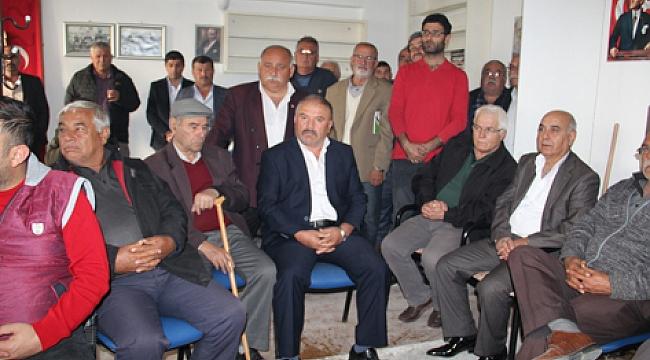 Dinar CHP'de 3 Aday Birleşerek Güç Birliği Yaptı