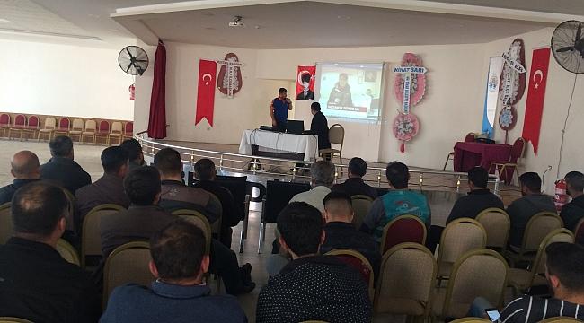 Dinar'da Afetle Başa Çıkma Semineri