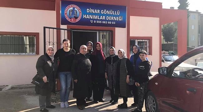 Dinar Gönüllü Hanımlar Derneği Açılıyor