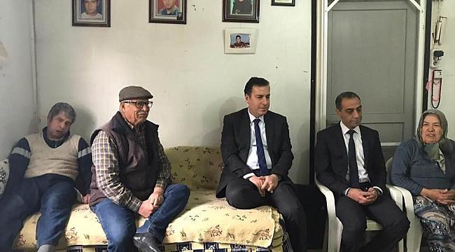 Dinar Kaymakamı Kapankaya'dan Şehit Ailesine Ziyaret