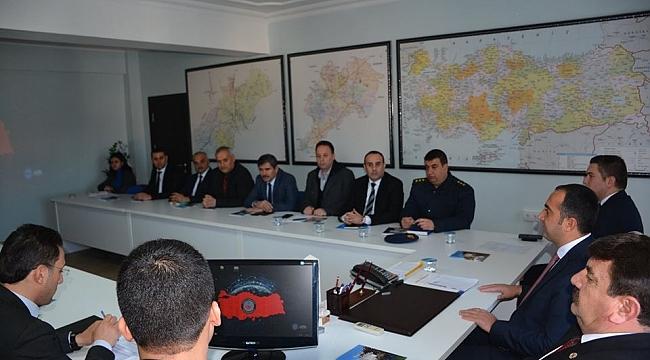 Dinar'da Uyuştucu Bağımlılıkla Mücadele Toplantısı Yapıldı