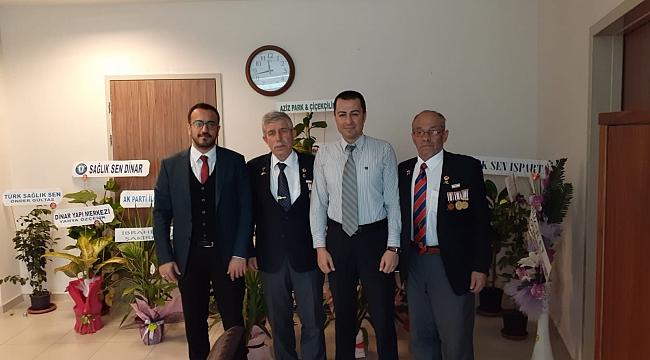 Başkan Cengiz Kartal ve Üyelerinden Yeni Başhekime Ziyaret