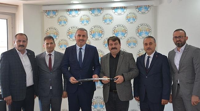 HAK- İŞ Genel Başkan Yardımcısı Başkan Nihat Sarı'yı Ziyaret Etti
