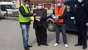 Belediyemiz tarafından Pazar yerinde korona virüsüne karşı gerekli tedbirler alındı