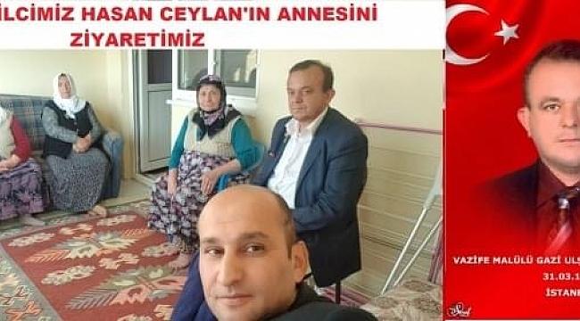 Başkan İsmail Kumartaşlı'dan Dinar Temsilcisi Hasan Ceylan'a Ziyaret