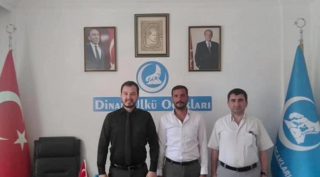 Afyon Merkez İlçe Başkan'ı Kartal'dan Başkan Çetin'e Ziyaret
