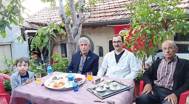 Başsavcı Selman Eskiler'den Gazi'lere Ziyaret