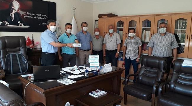 Dinar'da LGS Öncesi Öğrencilere Maske Dağıtılacak