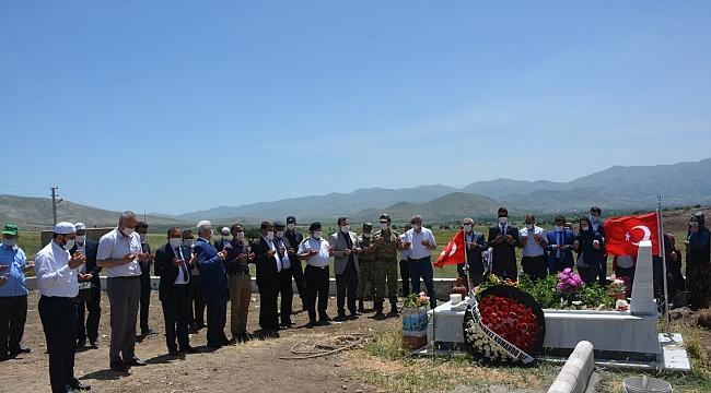 Şehidimiz Jandarma Teğmen Şafak Evran anıldı
