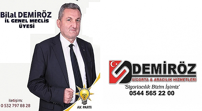 Ak Parti Afyonkarahisar İl Genel Meclis Üyesi Bilal Demiröz'den Kurban Bayramı Mesajı