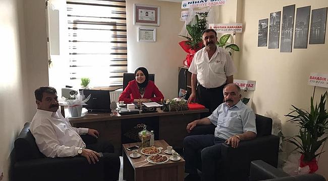 Belediye Başkanı Nihat Sarı'dan Yeni Açılan Avukatlık Bürosuna Ziyaret