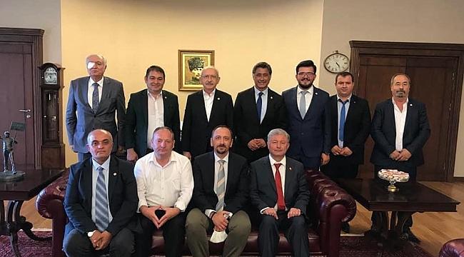 CHP Heyeti Genel Başkan Kemal Kılıçdaroğlu İle Görüştü