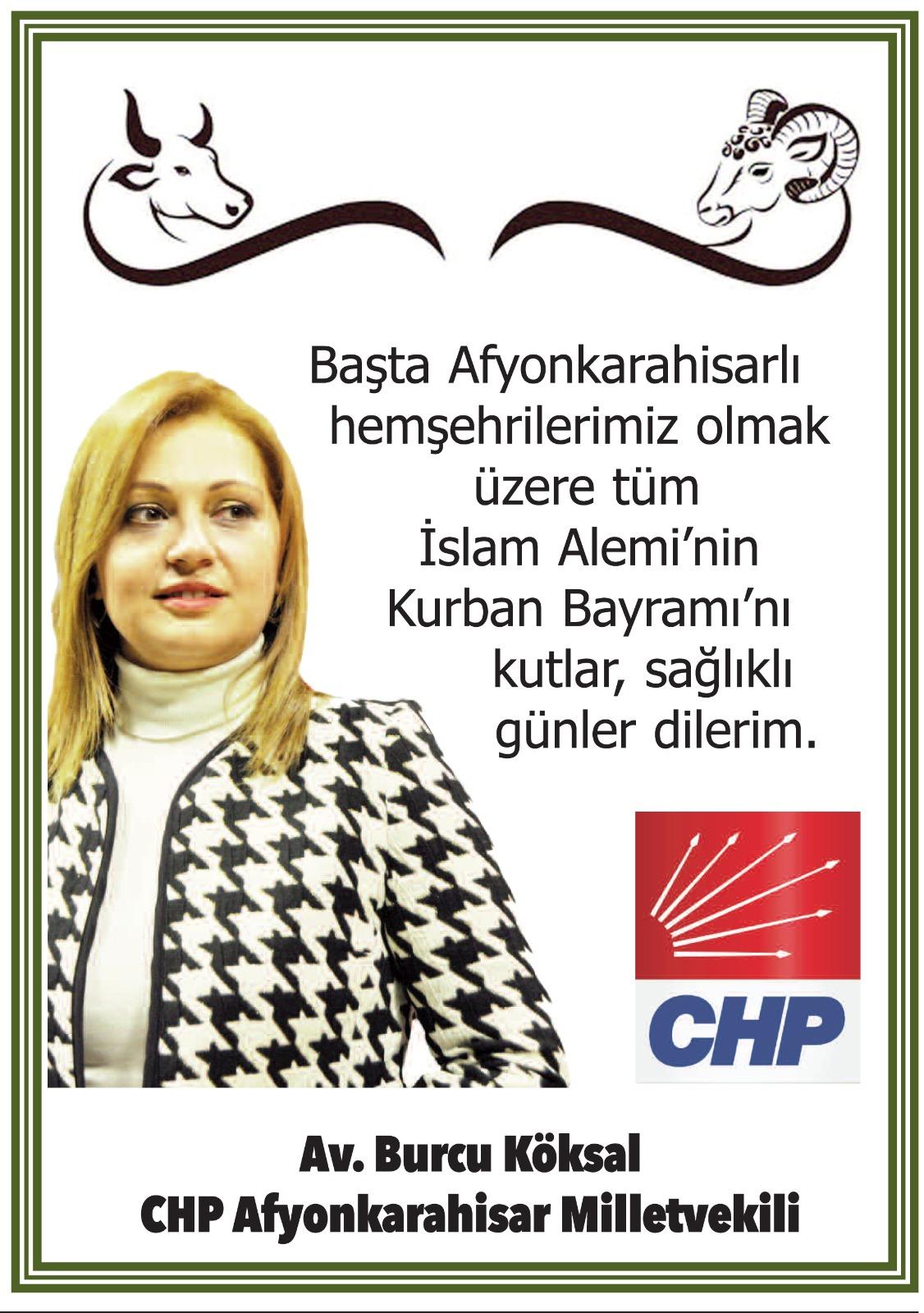 Milletvekili Köksal, Kurban Bayramı'nı kutladı