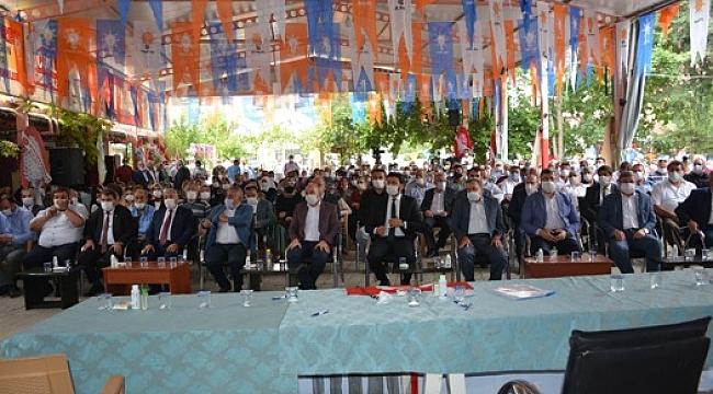 Ak Parti Dinar İlçe Başkanlığına Tekrar İdris Er Seçildi