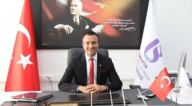 Hemşehrimiz Fıratcan Çınar'a Isparta'da önemli görev