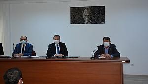 Dinar'da 29 Ekim Cumhuriyet Bayramı Kutlama Etkinliği Toplantısı Yapıldı