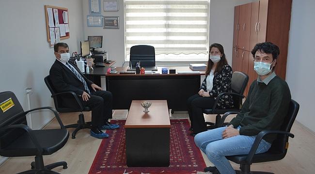 Belediye Başkanımız Nihat Sarı'dan Öğretmenler Günü Ziyareti