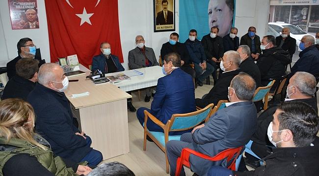 Milletvekili Ali Özkaya Dinar'da