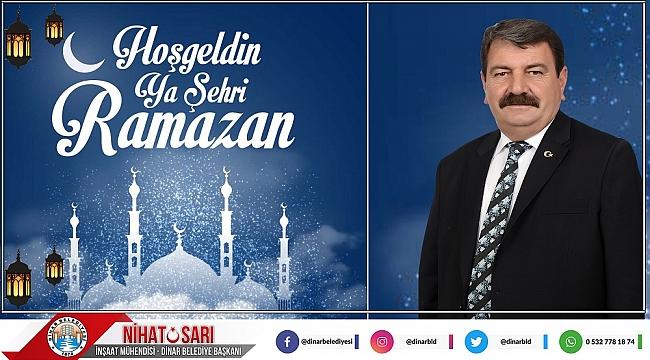 Belediye Başkanımız Nihat Sarı'dan Ramazan Ayı Mesajı
