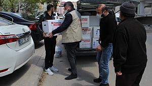 Cansuyu Derneğinden Dinar'a Yardım Paketi