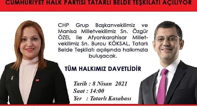 CHP Dinar İlçe Başkanlığından Duyuru