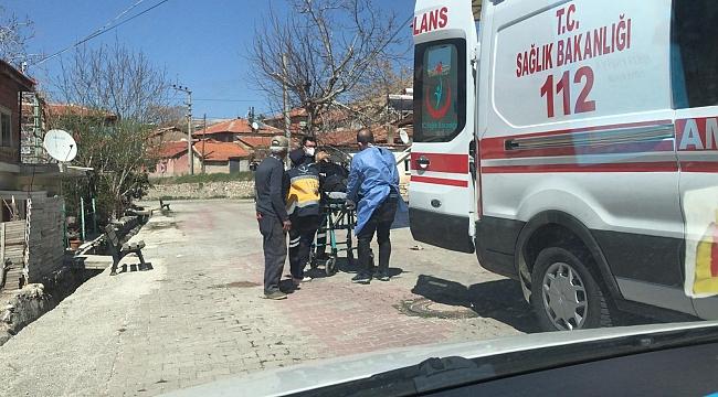 Dinar'da Halil İbrahim M. Kalp Krizi Geçirdi