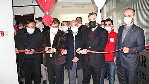 Dinar'da Türk Kızılay'ı Şubesi Büyük Bir Katılım İle Yeniden Açıldı