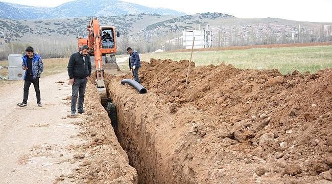 İncirlisi Mahallemize yeni kanalizasyon hattı