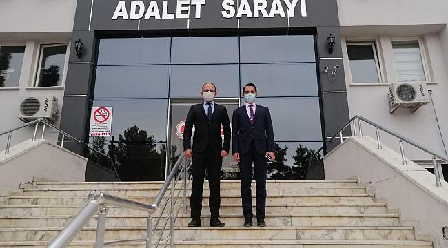 Kaymakam Sakarya'dan Cumhuriyet Savcımız Hüseyin Bodur'a Ziyaret